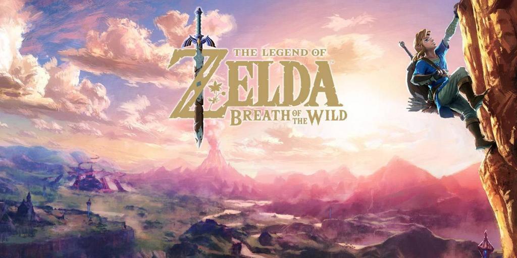 La leyenda de Zelda Aliento de lo salvaje