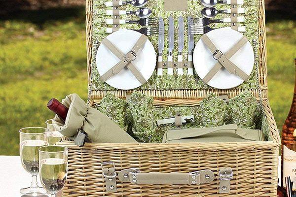 Las 7 Mejores cestas de picnic 2020