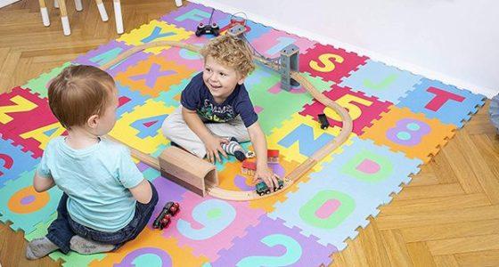 La 4 Mejor alfombra de espuma para bebés 2020 | Comparativa